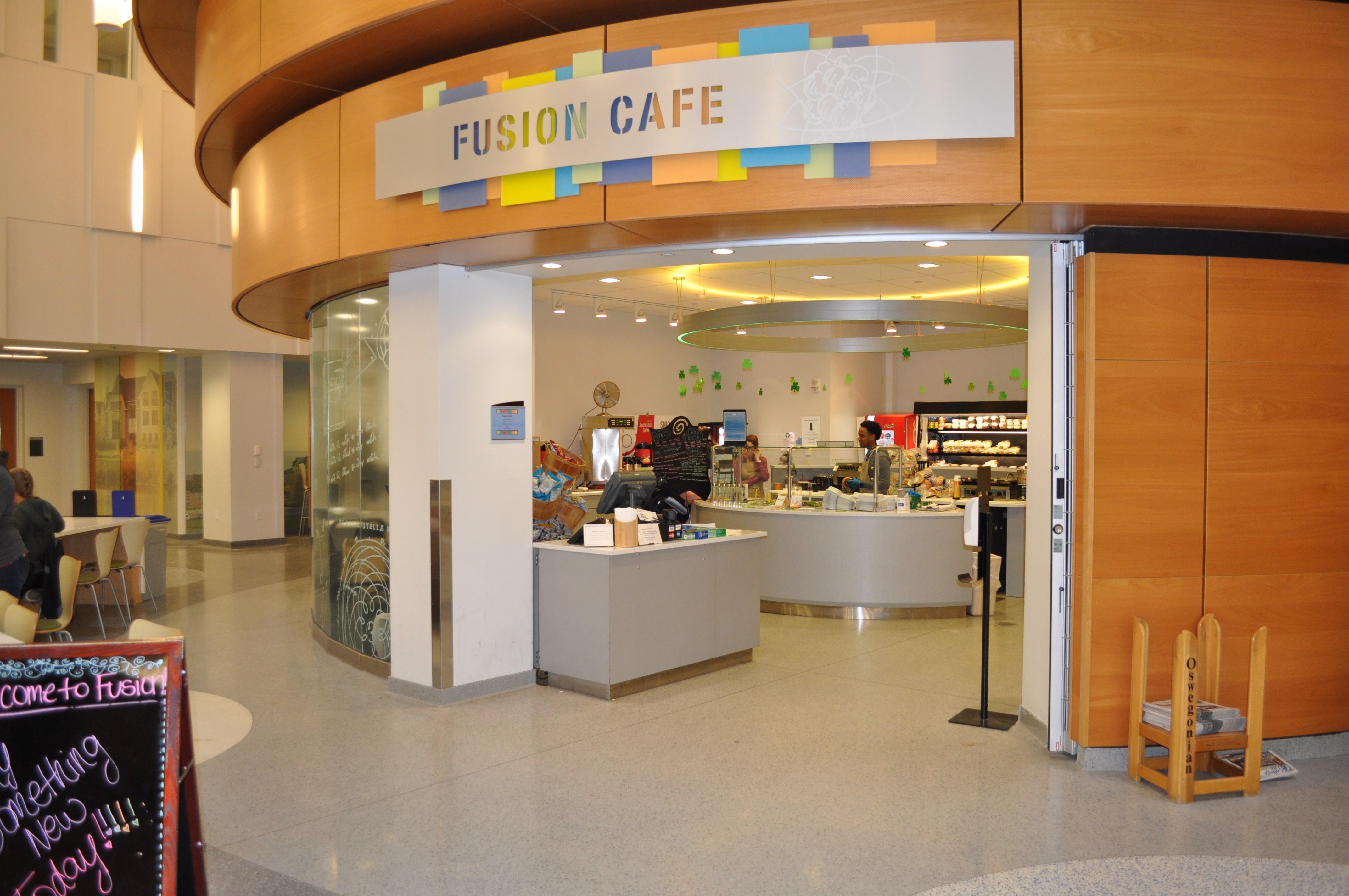 Fusion Cafe, The Nucleus, Shineman Center