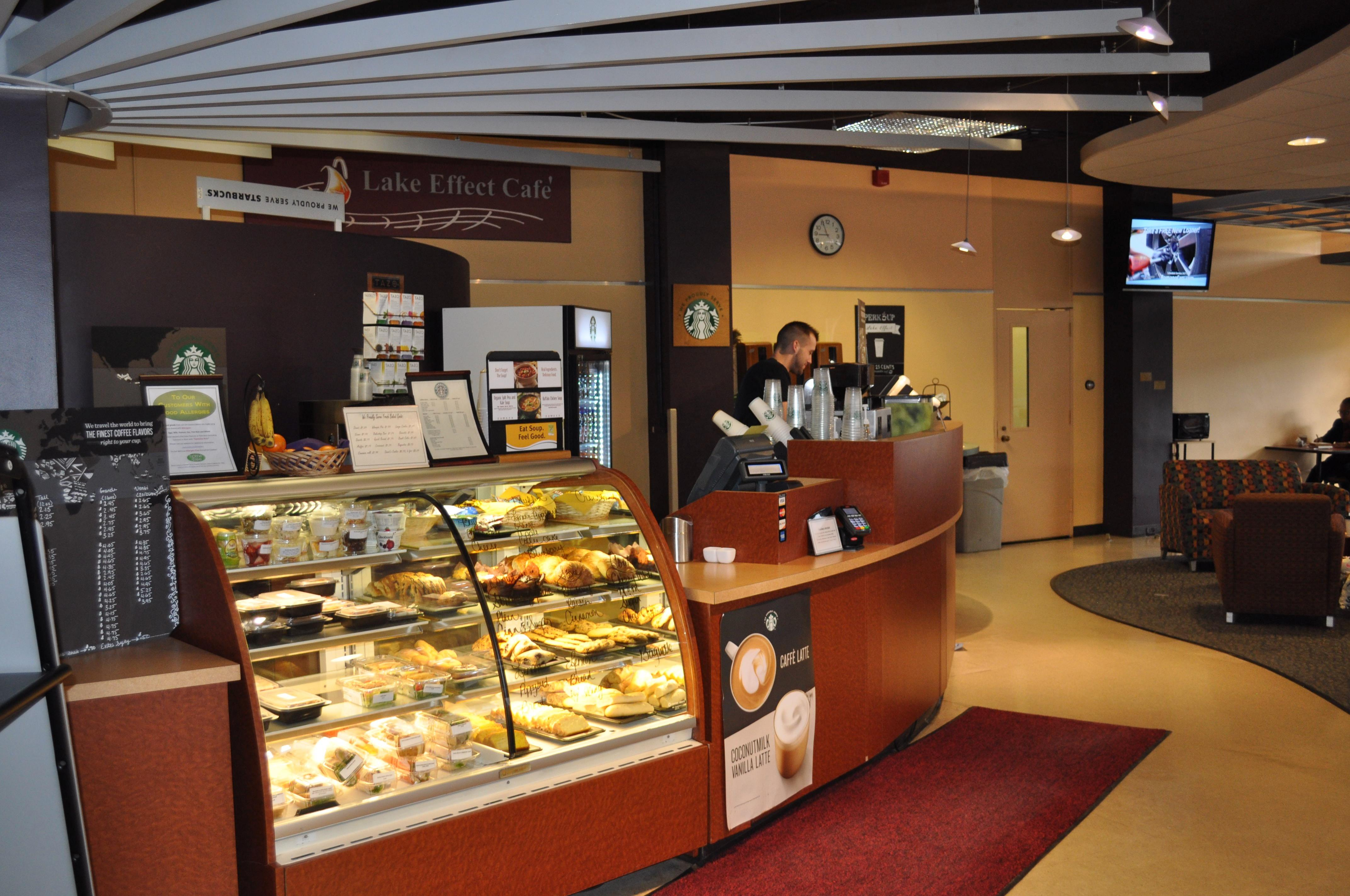 Lake Effect Cafe, Penfield Library