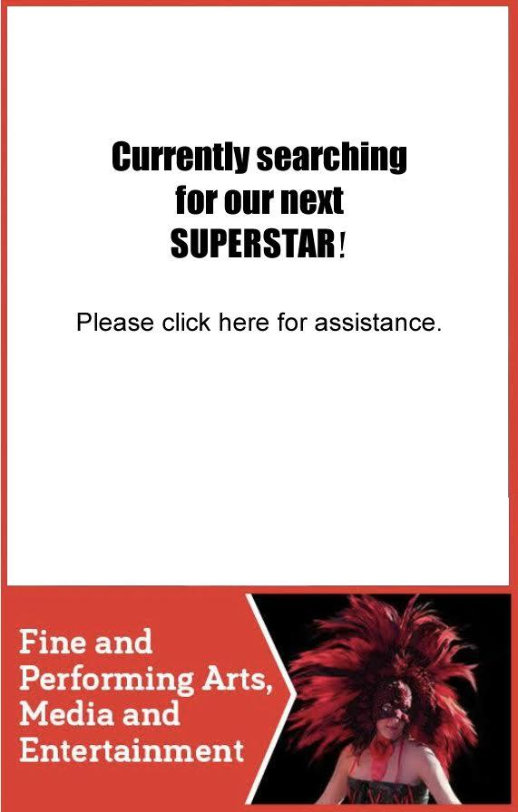 Currently searching for our next SUPERSTAR!
