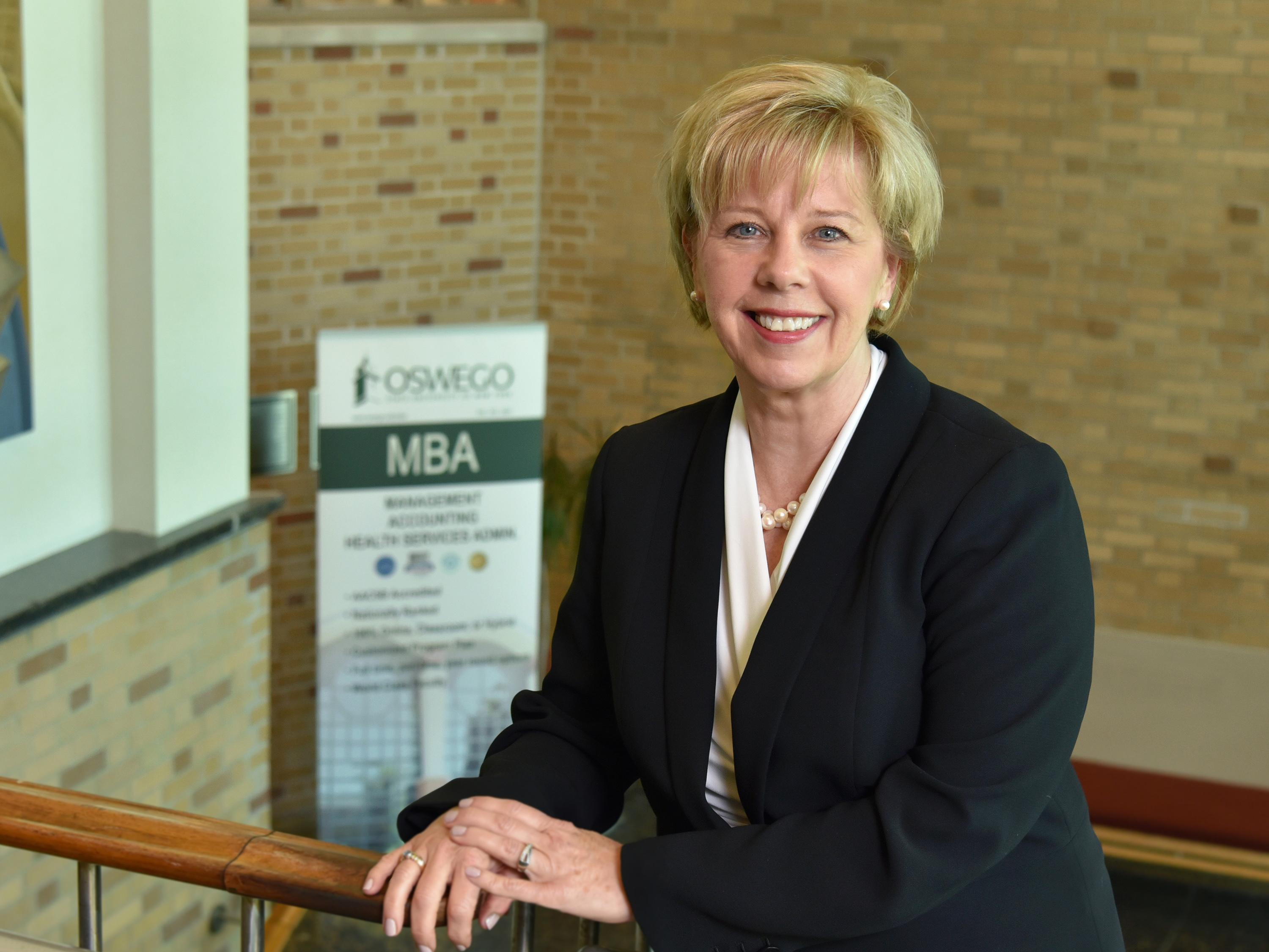 Irene Scruton, winner of a SUNY Chancellor's Award for Excellence in Professional Service