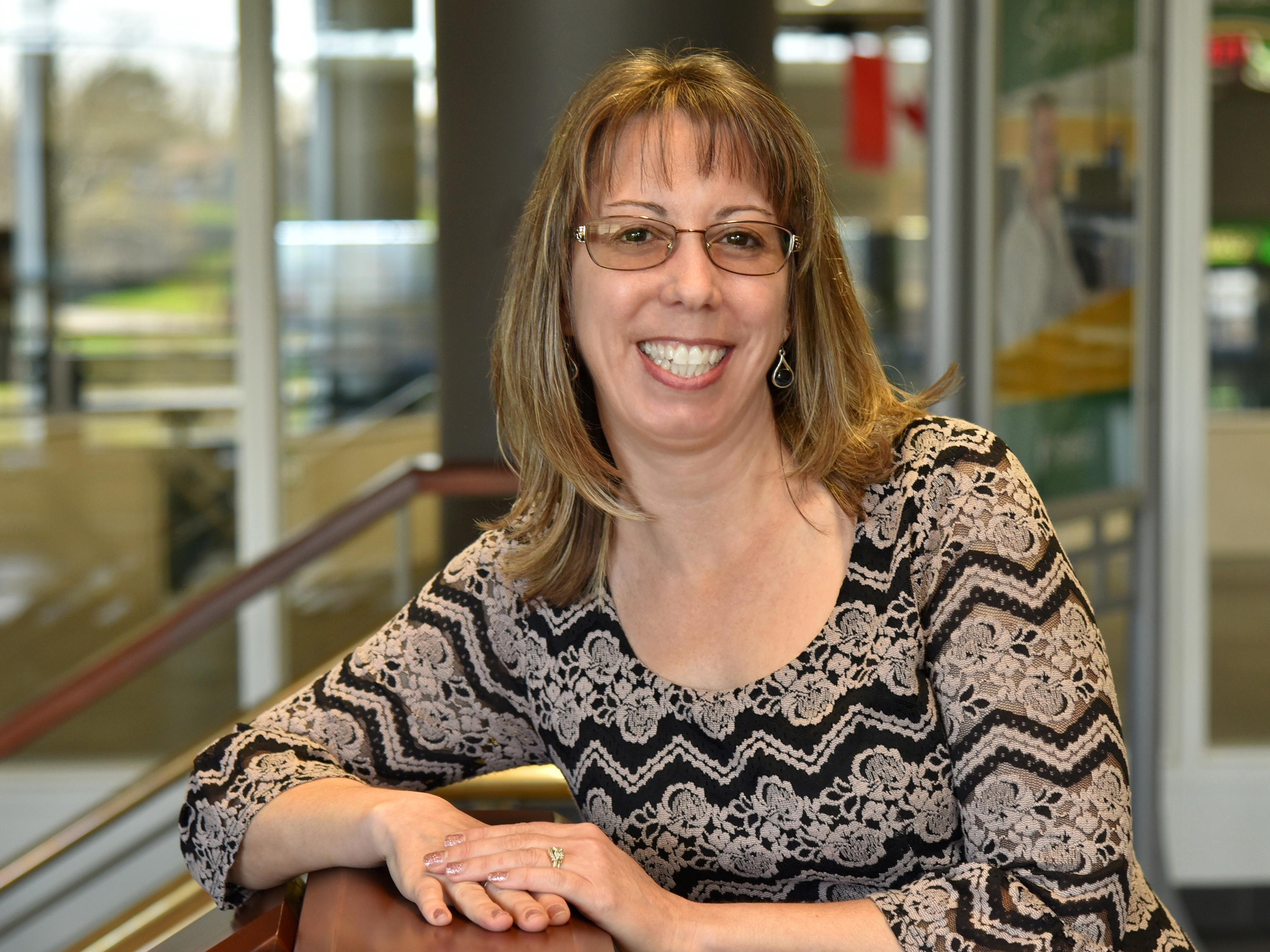 Holli Stone, winner of a SUNY Chancellor's Award for Excellence in Professional Service