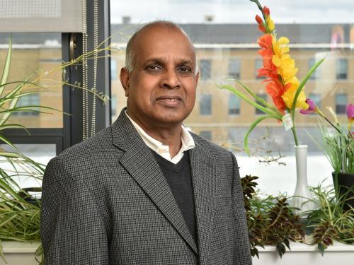 Ampalavanar Nanthakumar of the mathematics department is a renowned scholar and valuable teacher