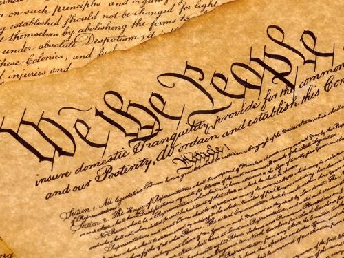 Image of We The People heading The Constitution