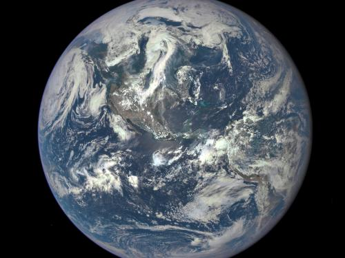 Detailed photo of the Earth from space, courtesy of NASA