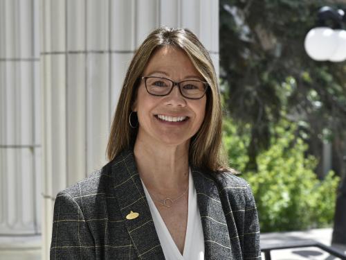 Jennifer Broderick, creative director of alumni and development communications