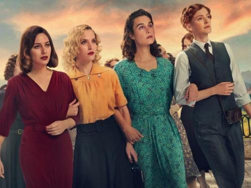 Promotion image for Las Chicas del Cable showing four women