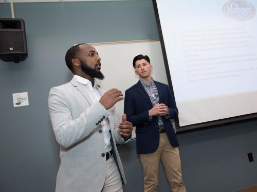 While pitches and presentation are already prominent parts of the School of Business coursework, a new minor in sales will provide additional skills