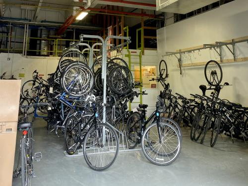 A variety of bicycles are available in the Bike Share program