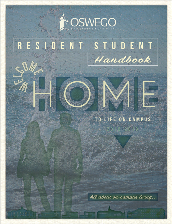 Resident Student Handbook 2018-2019 :: All about on-campus living at SUNY Oswego