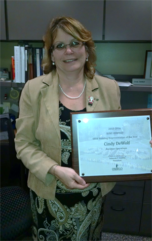 Picture of Cindy DeWolf - SEFA Building Representative of the Year