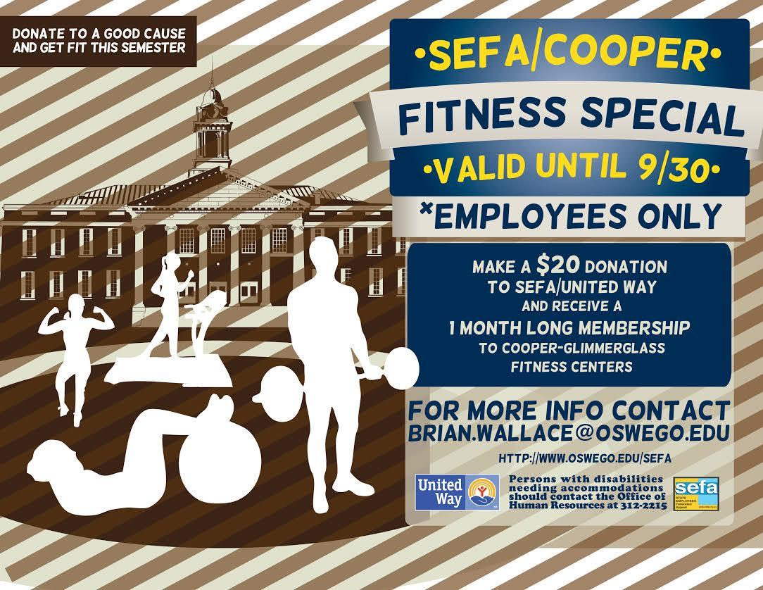 SEFA Fitness Center Special for Employees