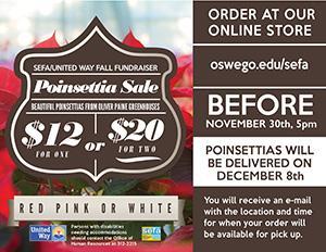 Poinsettia Sale Details 2016