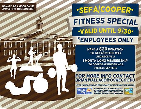 SEFA fitness deal