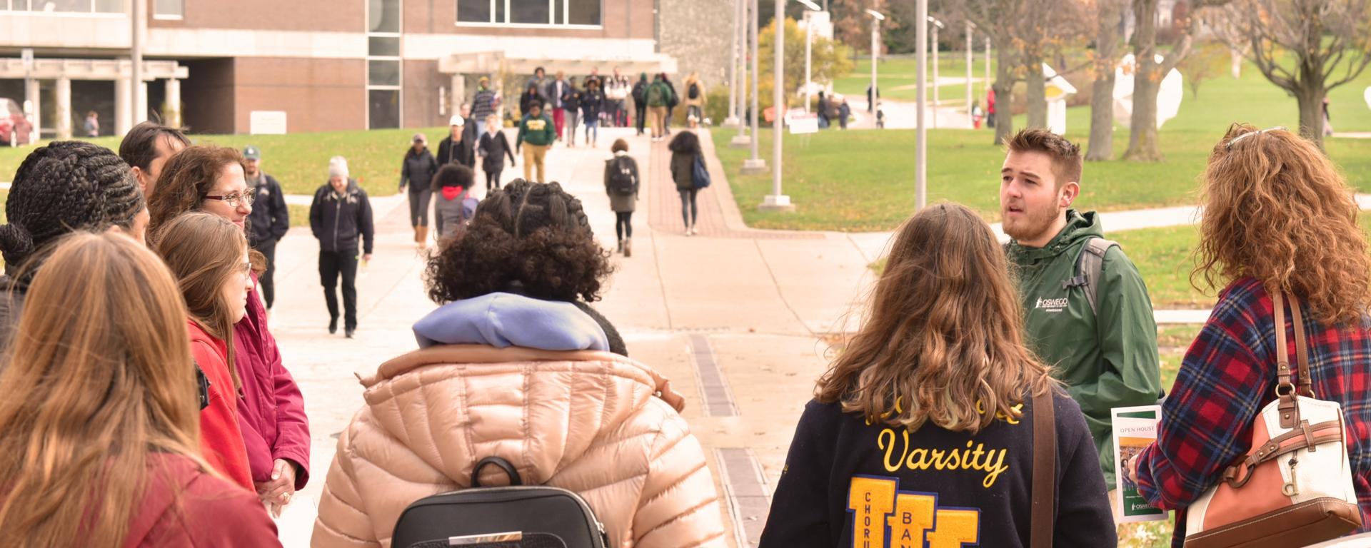 Future students, families explore campus during an open house