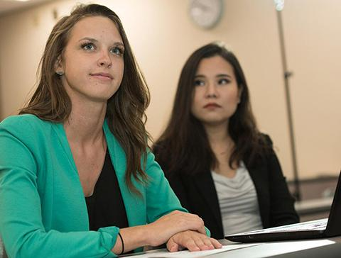 Students find MBA courses, online offerings high-quality and convenient